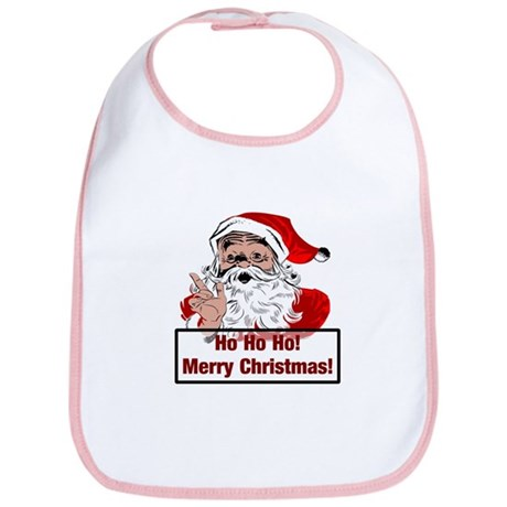 Santa Clause Bib