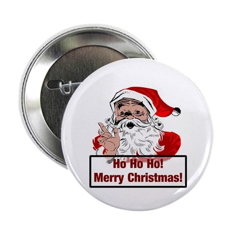 "Santa Clause 2.25"" Button (10 pack)"