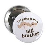 "big brother to be monkey 2.25"" Button"