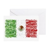 Textual Mexico Greeting Cards (Pk of 10)
