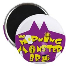 The Morning Monster Bru Magnet