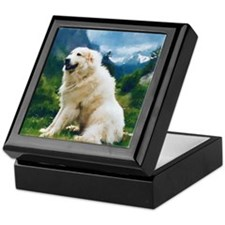 "Great Pyrenees Keepsake Box ""Chien de Montagne"""