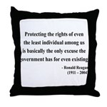 Ronald Reagan 3 Throw Pillow