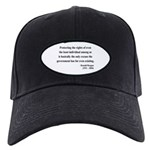 Ronald Reagan 3 Black Cap