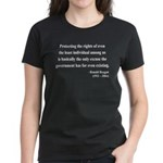 Ronald Reagan 3 Women's Dark T-Shirt