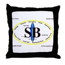 Santa Barbara Throw Pillow