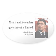 Ronald Reagan 4 Oval Decal