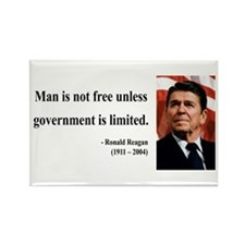 Ronald Reagan 4 Rectangle Magnet (100 pack)
