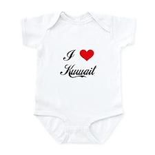 I Love Kuwait Infant Bodysuit