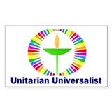 UU Rectangle Bumper Stickers