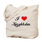 I Love Kazakhstan Tote Bag