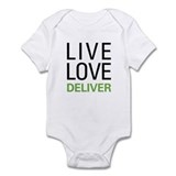 Live Love Deliver Infant Bodysuit