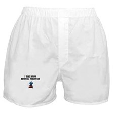 Cute I love snow Boxer Shorts