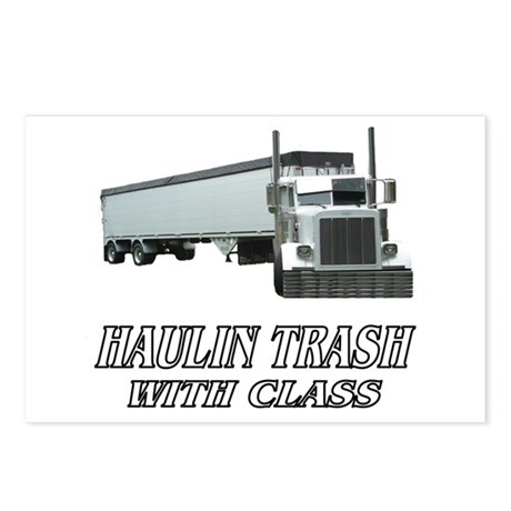 Haulin Trash With Class Postcards (Package of 8)