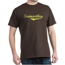 Samantha Vintage (Gold) T-Shirt