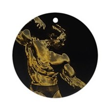 Body Building Ornament (Round)