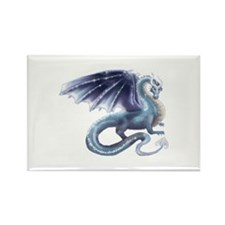 Cool Magic dragon Rectangle Magnet