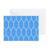BLUE HONEYCOMB Greeting Cards (Pk of 20)