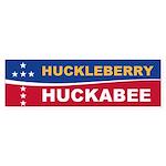 Huckleberry Huckabee Bumper Sticker