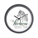 The Classic Arabian Horse Wall Clock