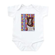 Leila Llama Infant Bodysuit