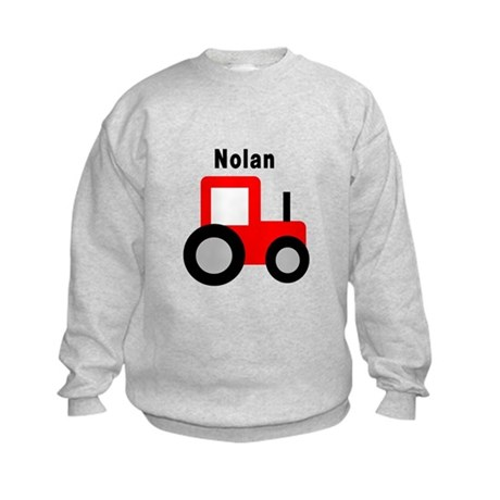 Nolan - Red Tractor Kids Sweatshirt