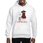 I Eat brains Hooded Sweatshirt