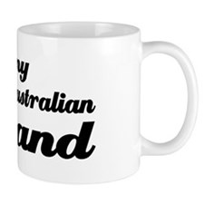 I love my Australian husband Mug