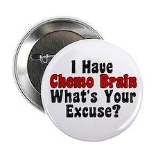 """Chemo Brain 2.25"""" Button"""