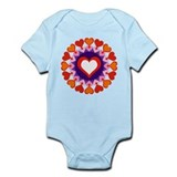 Heart Circle Infant Bodysuit