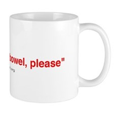 'I'd like to buy a bowel' Mug