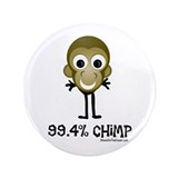 "99.4% Chimp 3.5"" Button (100 pack)"