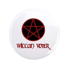 "Wiccan Voter 3.5"" Button (100 pack)"