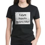 Future Magazine Features Editor Women's Dark T-Shi