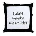Future Magazine Features Editor Throw Pillow