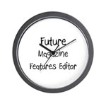 Future Magazine Features Editor Wall Clock