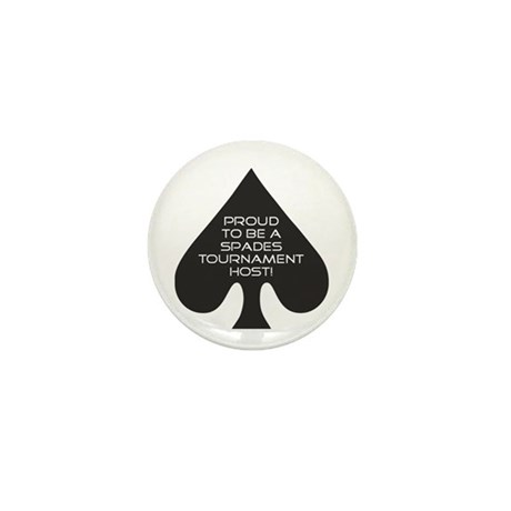Spades Tournament Host Mini Button