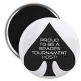 Spades Tournament Host Magnet