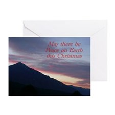 """Peace on Earth"" Christmas Card (Pk of 1"