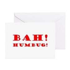 Bah! Humbug! Greeting Cards (Pk of 10)