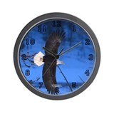 """Freedom"" Eagle Wall Clock"