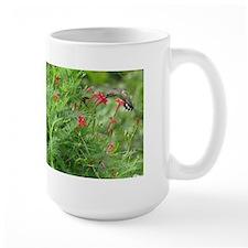 Ruby-throat and Cypress Vine Mug