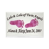 LOLO & LOLA Rectangle Magnet