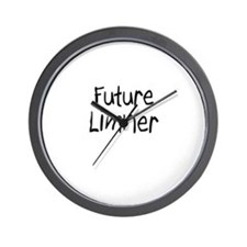 Future Limner Wall Clock