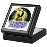 Beowulf gifts and t-shirts Keepsake Box