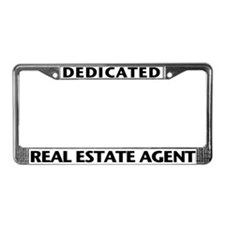 DEDICATED (Black) License Plate Frame