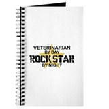 Veterinarian RockStar by Night Journal