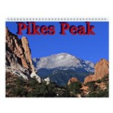 Pikes Peak Colorado Wall Calendar