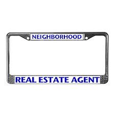 NEIGHBORHOOD (Blue) License Plate Frame