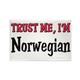 Trust Me I'm Norwegian Rectangle Magnet
